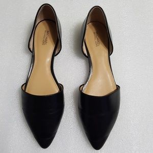 MICHAEL KORS 🎀 D'Orsay  Flats pointed toes